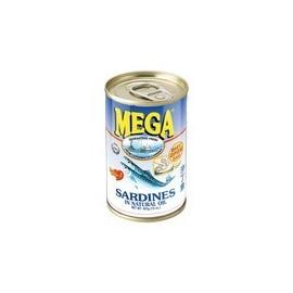 Sardine in ulei 155g - Mega
