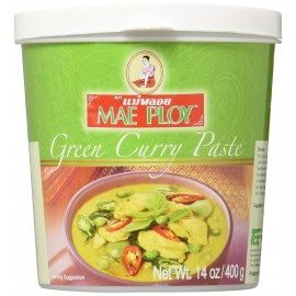 Pasta Curry verde 400g - Mae Ploy
