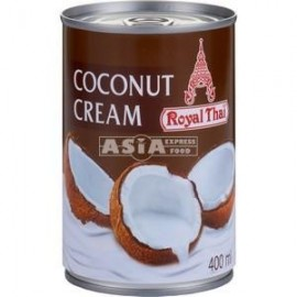 Crema de cocos 20-22% 400ml - Royal Thai