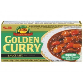 Pasta Curry Golden Japonia 92g - S&B