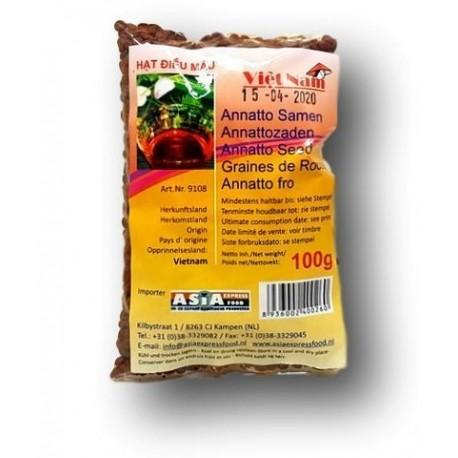 Seminte de Anatto 100g - Viet Nam