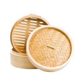Steamer de bambus (20 cm) 1 SET