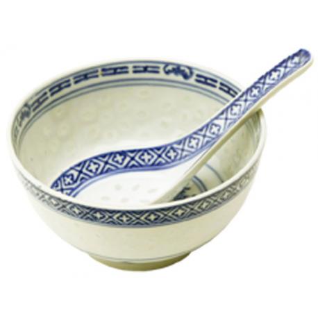 Farfuriuta pentru orez cu lingura