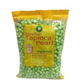 Tapioca perle cu Pandan (Mari) 375g - X.O