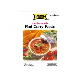 Pasta Curry Rosu 50g - Lobo