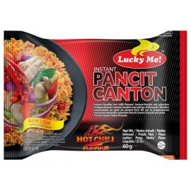 """Taitei instant ,,Pancit Canton"""" Hot Chilli 60g - Lucky Me"""