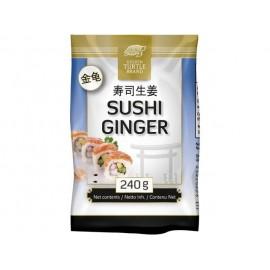 Ghimbir pentru Sushi alb 240g - Golden Turtle
