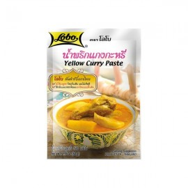 Pasta Curry Galben 50g - Lobo
