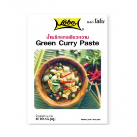 Pasta Curry Verde 50g - Lobo