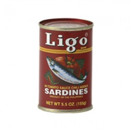 Sardine in sos tomat Iute 155g - Ligo