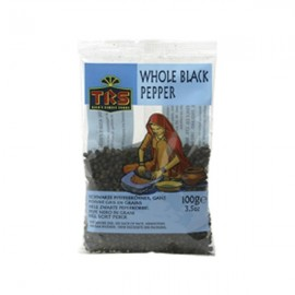Piper negru boabe 100g - TRS