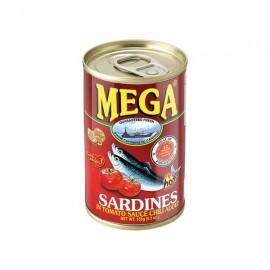 Sardine in sos tomat Iute 155g - Mega