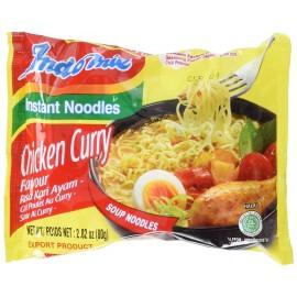 Taitei instant cu pui si curry 80g - Indomie