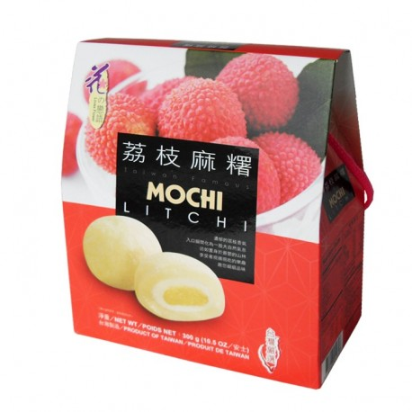 Prajituri mochi cu Lychee 300g Gift Box