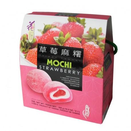 Prajituri mochi cu Capsuni 300g Gift Box