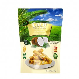 Rice Roll Snack Crispy Coconut 100g - Coco