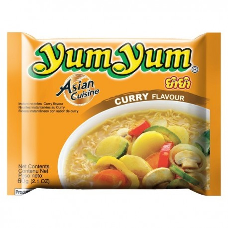 Taitei instant cu Curry 60g - Yum Yum