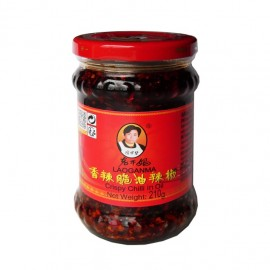 Crispy Chilli in ulei 210g - Laoganma