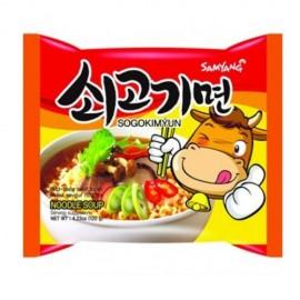 """Instant Noodles Beef ,,Sogogi Myun"""" 120g - Sam Yang"""