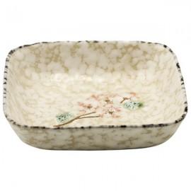 Ceramic Plate Snow (12,5 cm)