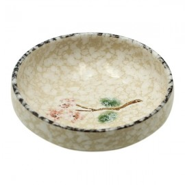 Ceramic Plate Snow (10,4 cm)