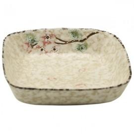 Ceramic Plate Snow (7,6 cm)
