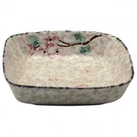 Ceramic Plate Snow (10,5 cm)