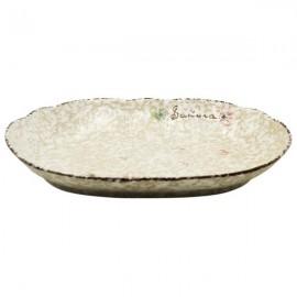 Ceramic Plate Snow (31,5 cm)