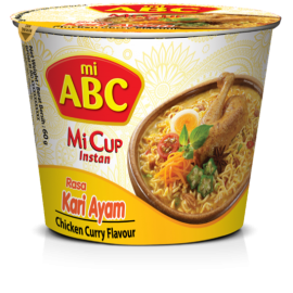 Instant Cup Noodle Curry Chicken 60g - ABC