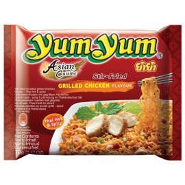 Instant Noodles Grilled Chicken 60g - Yum Yum
