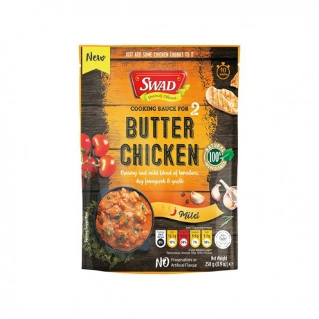 Sos Curry Butter Chicken 250g - Swad