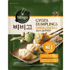 Gyoza cu pui si legume 600g - Bibigo