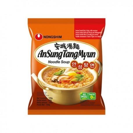 Supa instant Ramen Ansung Tang Myun 125g - Nongshim