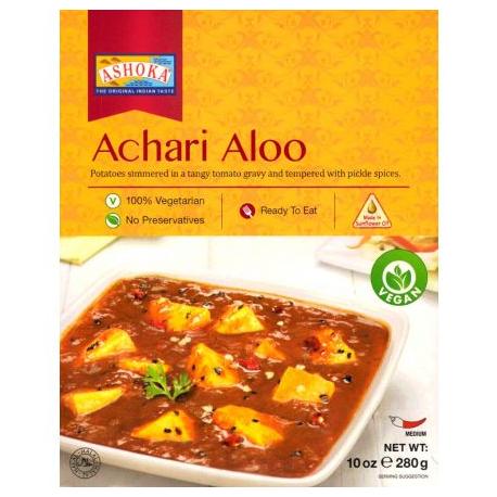 Achari Aloo (gata de mancat) 280g - Ashoka